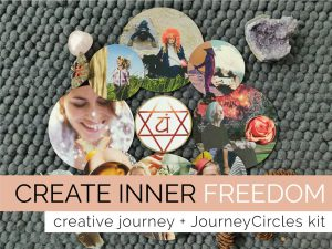 Create inner freedom: creative journey + JourneyCircles kit